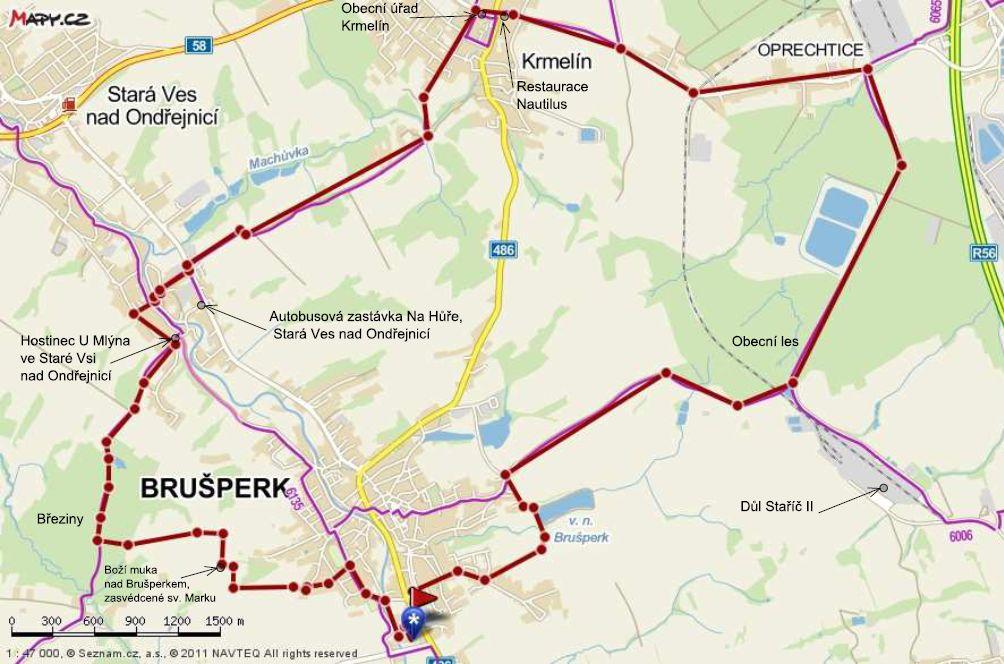Cesta-Marek-Breziny-Stara_Ves-Krmelin-Oprechtice-dul-Borosin